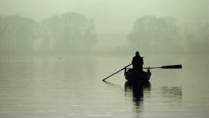 Cool-Lonely-Wallpaper-Boat-Image-Fog-Picture